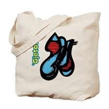 Blue Meanie Tote Bag