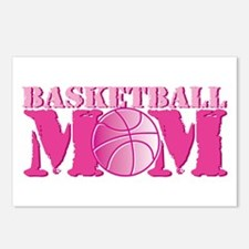 Basketball Mom Pink Postcards (Package of 8)