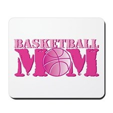 Basketball Mom Pink Mousepad