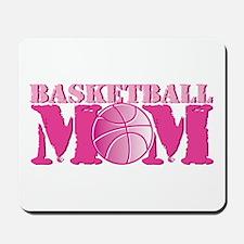 Basketball Mom Pink Mousepad