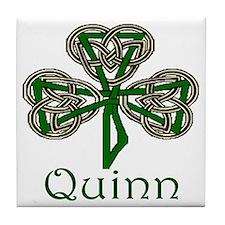 Quinn Shamrock Tile Coaster
