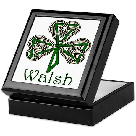 Walsh Shamrock Keepsake Box