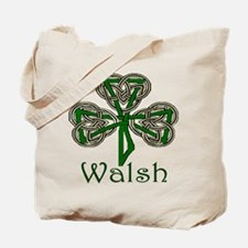 Walsh Shamrock Tote Bag