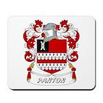 Panton Coat of Arms Mousepad