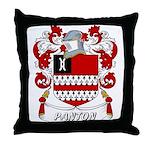 Panton Coat of Arms Throw Pillow