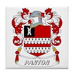 Panton Coat of Arms Tile Coaster