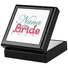 Nana of the Bride Keepsake Box