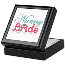 Nanny of the Bride Keepsake Box