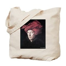 "Faces ""Van Eyck"" Tote Bag"