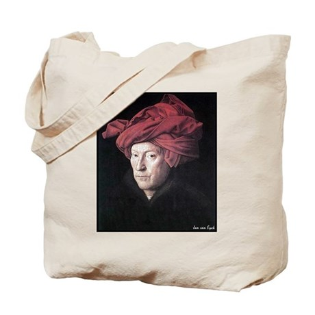 "Faces ""Van Eyck"" Tote Bag"