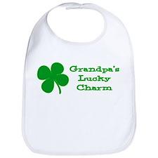Grandpa's Lucky Charm Bib