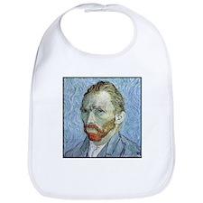 """Faces """"Van Gogh"""" Bib"""