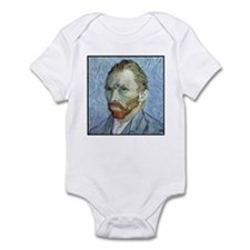 "Faces ""Van Gogh"" Infant Bodysuit"