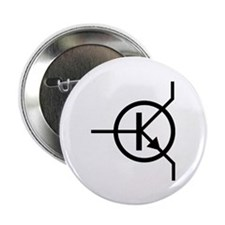 """transistor icon 2.25"""" Button (10 pack)"""