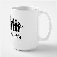 Alien Diversity Large Mug