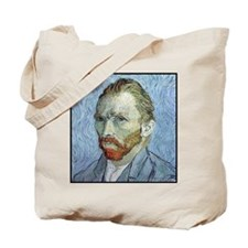 """Faces """"Van Gogh"""" Tote Bag"""