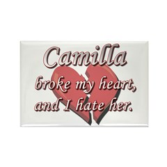 Camilla broke my heart and I hate her Rectangle Ma
