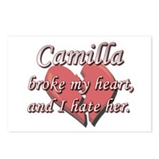 Camilla broke my heart and I hate her Postcards (P