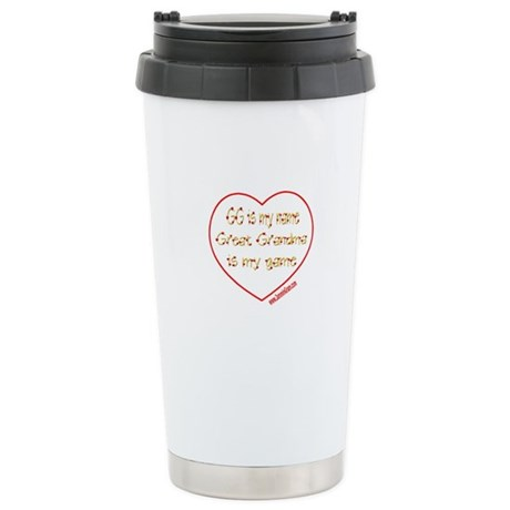 GG 6 Stainless Steel Travel Mug