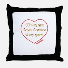 GG 6 Throw Pillow