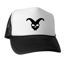rabbit bunny skull Trucker Hat