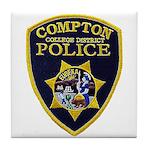 Compton College PD Tile Coaster