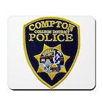 Compton College PD Mousepad