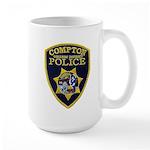 Compton College PD Large Mug