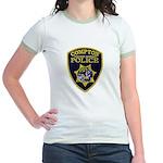 Compton College PD Jr. Ringer T-Shirt