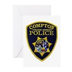 Compton College PD Greeting Cards (Pk of 20)