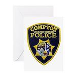Compton College PD Greeting Card