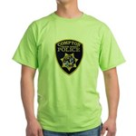 Compton College PD Green T-Shirt