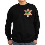 SHAMROCK SHERIFF BADGE Sweatshirt (dark)