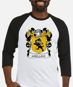 Phillips Coat of Arms Baseball Jersey