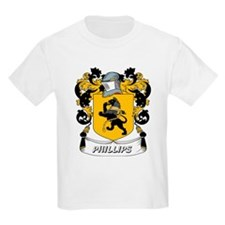 Phillips Coat of Arms Kids T-Shirt