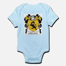 Phillips Coat of Arms Infant Creeper