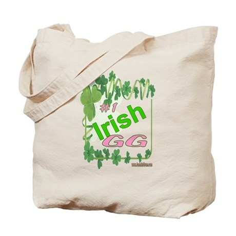 #1 IRISH GG Tote Bag
