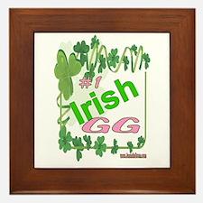 #1 IRISH GG Framed Tile