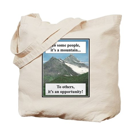 """Challenges"" Tote Bag"