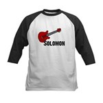 Guitar - Solomon Kids Baseball Jersey