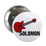 "Guitar - Solomon 2.25"" Button"