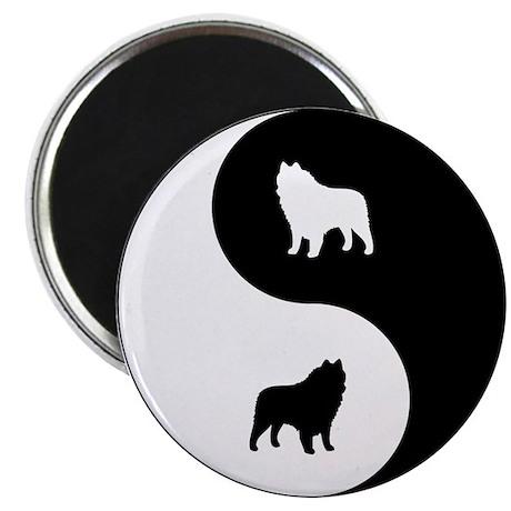 Yin Yang Schipperke Magnet