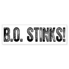 B.O. Stinks Bumper Bumper Sticker