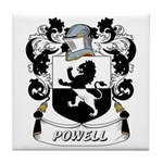 Powell Coat of Arms Tile Coaster