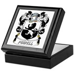 Powell Coat of Arms Keepsake Box