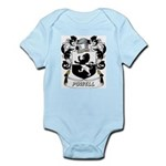 Powell Coat of Arms Infant Creeper