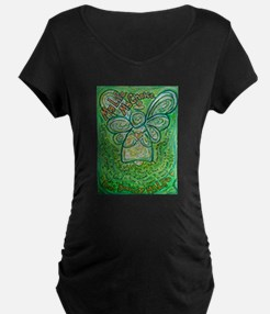 My Life Green Cancer Angel T-Shirt