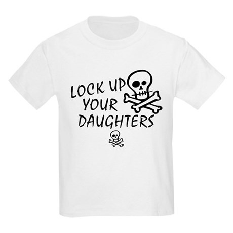 Lock Up Your Daughters Kids Light T-Shirt