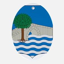 Funny Euskadi Oval Ornament