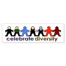 Diversity Bumper Bumper Sticker